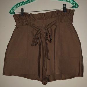 High waisted express shorts